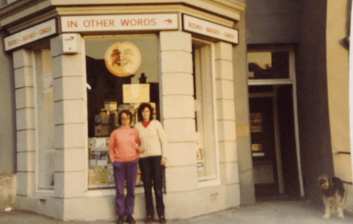 In Other Words bookshop, Plymouth, ca. 1980s (West Devon Records Office, 3901/18)