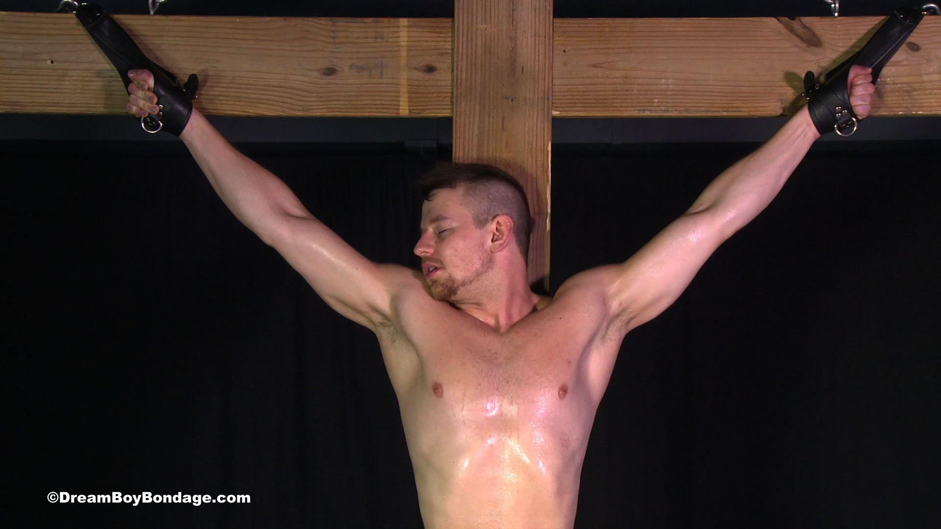 Crucifixion bondage apologise, but