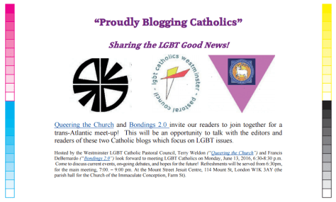 Proudly blogging Catholics