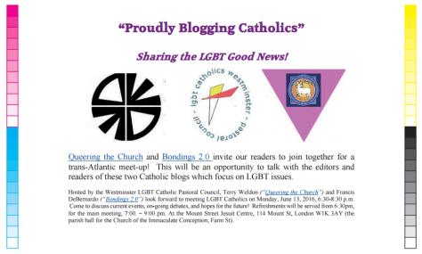 Proudly blogging Catholics