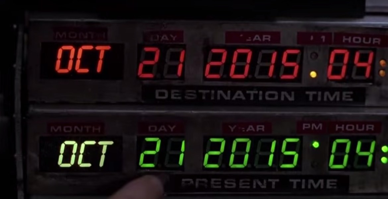 O Dia de Volta para o Futuro vem aí