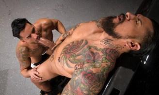 Boomer Banks, Bruno Bernal, Raging Stallion,Anal, Big Dick, Foreskin, latinos, Oral, Tattoos