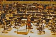 Einsames Instrumentstimmen