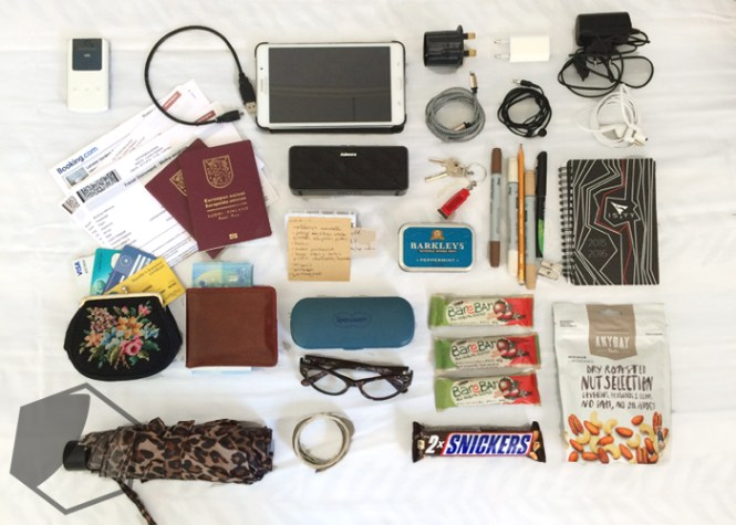 How to pack for two persons for one week in Europe in one carry on