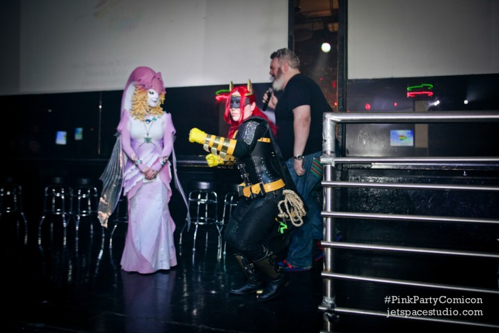 Pink Party Comicon