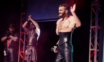 High Heels and Leather: Pup Tugger Breaks the Mold