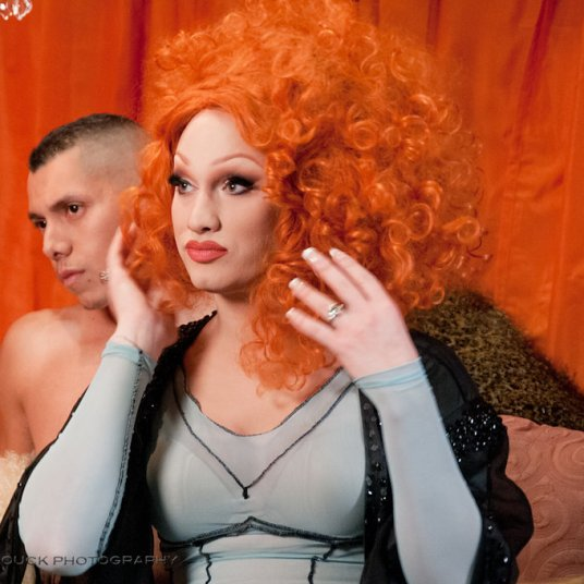 "Jinkx Monsoon stars as ""Celeste"" in Capitol Hill Season 2."