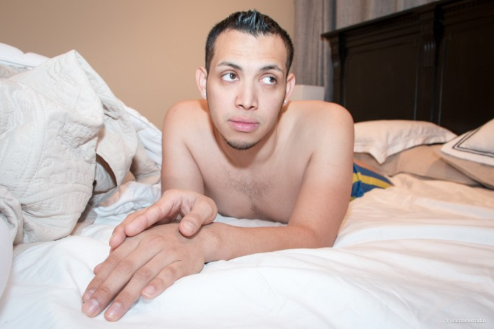 Bedroom Series: Cristian. Photos by Robert Roth.