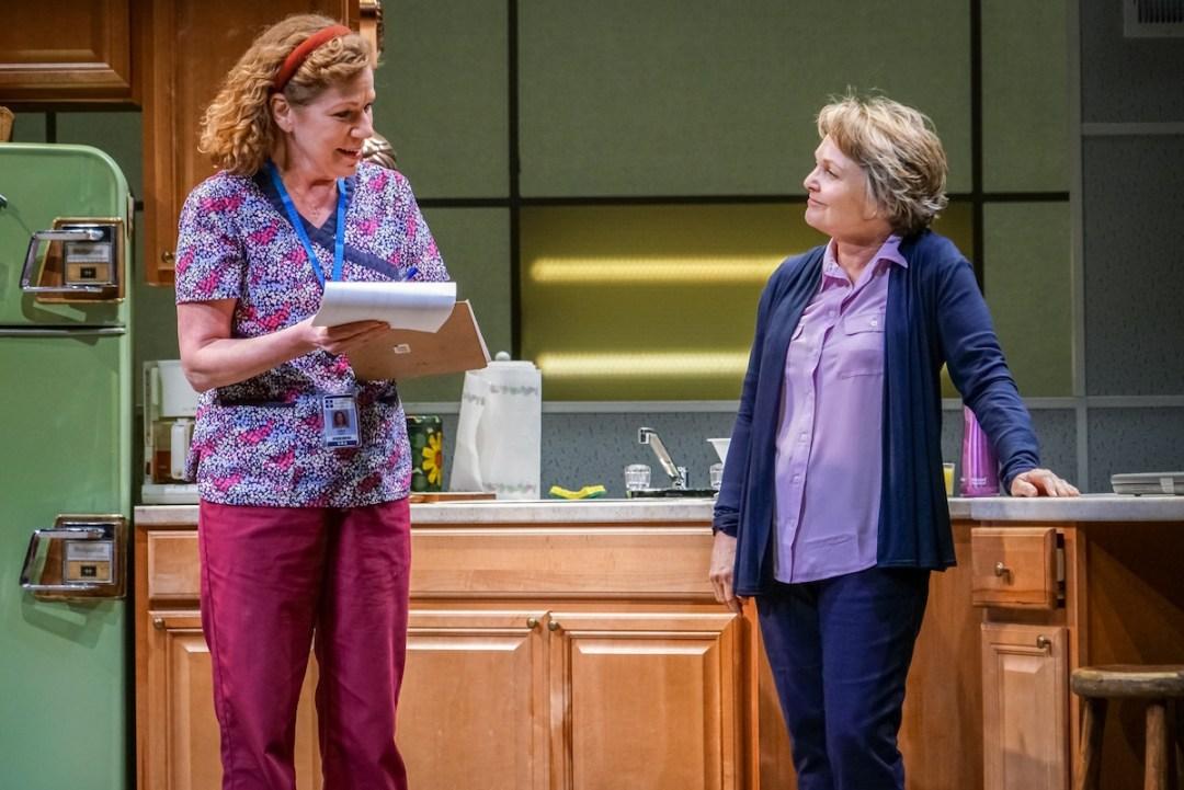 Anne Allgood and Pamela Reed in Luna Gale