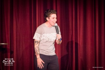 2016 Out & In Pride Comedy Showcase. Photo by Robert Roth/Jetspace Magazine.