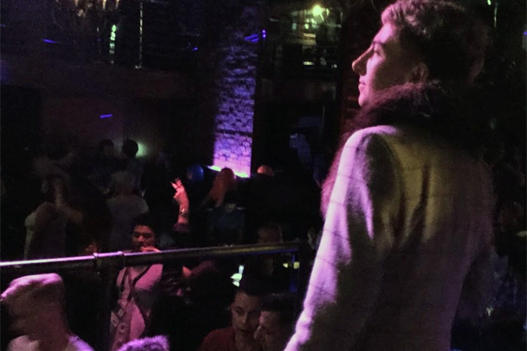 Sarah at the Gay-La