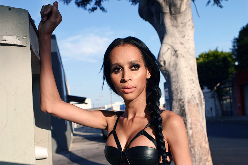 Isis King. Photo by Tim Brown courtesy of Oxygen.