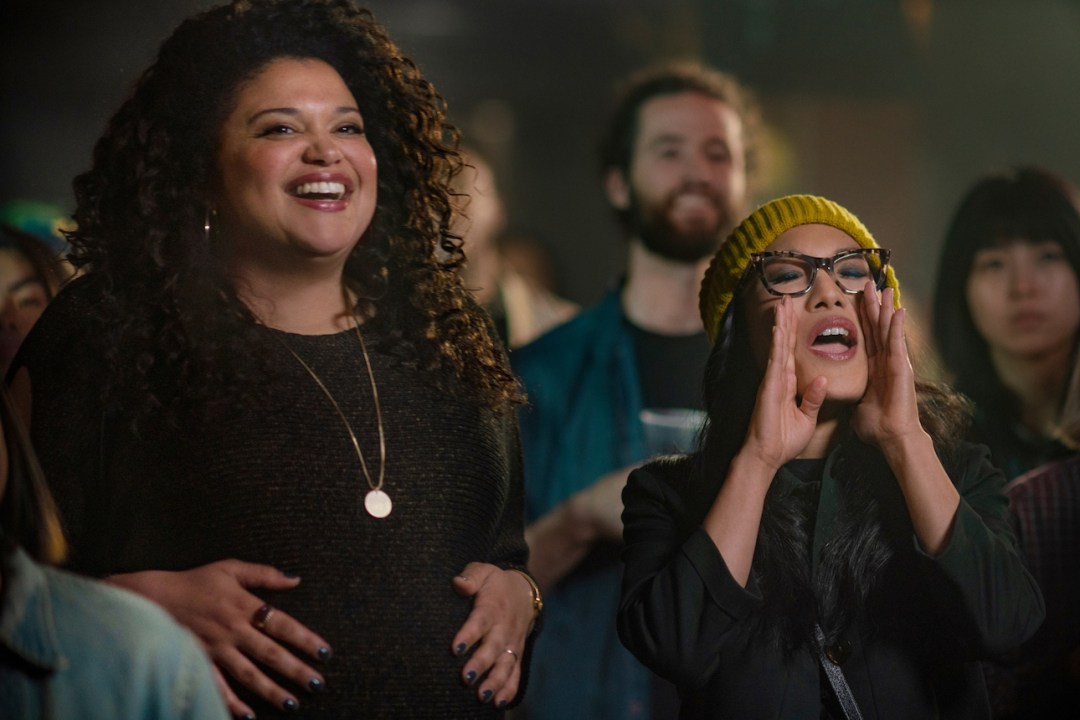 Michelle Buteau and Ali Wong