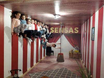 Parcours sensoriel Sensas