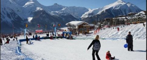 Skier en famille à Orcieres