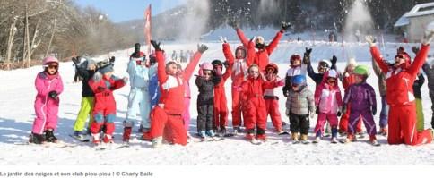 Skier en famille à St Leger les Melezes