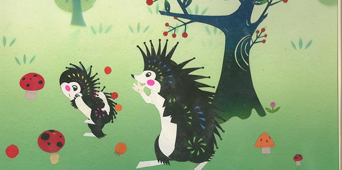 Ciné concert : l'écureuil coiffeur et autres peintures...