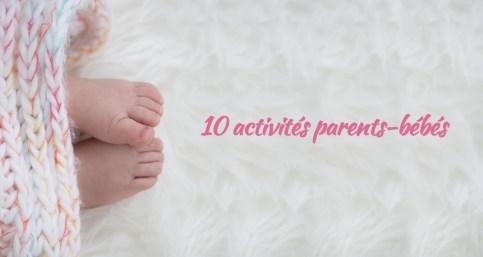 Activités parents-bébés à Marseille