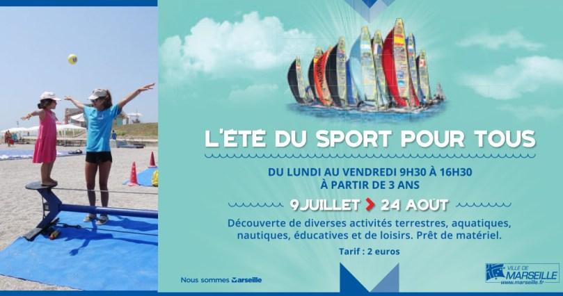 Activités sportives pour les enfants sur les plages