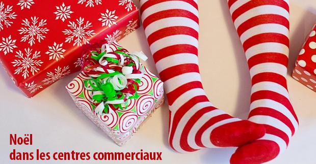 Noël dans les centres commerciaux de Marseille
