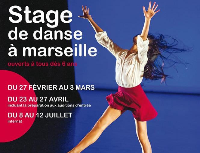 Stage danse école nationale Marseille