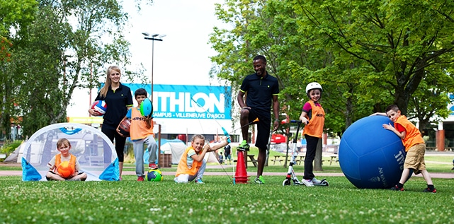 Des vacances sportives au Decathlon Village