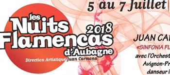 Nuits flamencas été Aubagne