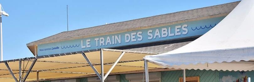 Le train des sables à Marseille