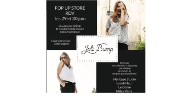 Joli Bump organise un pop-up store à Marseille