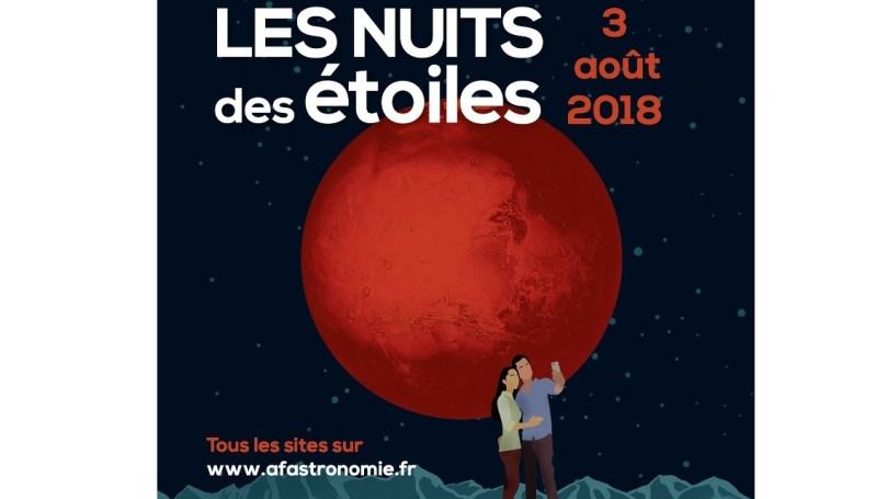Nuits des étoiles 2018