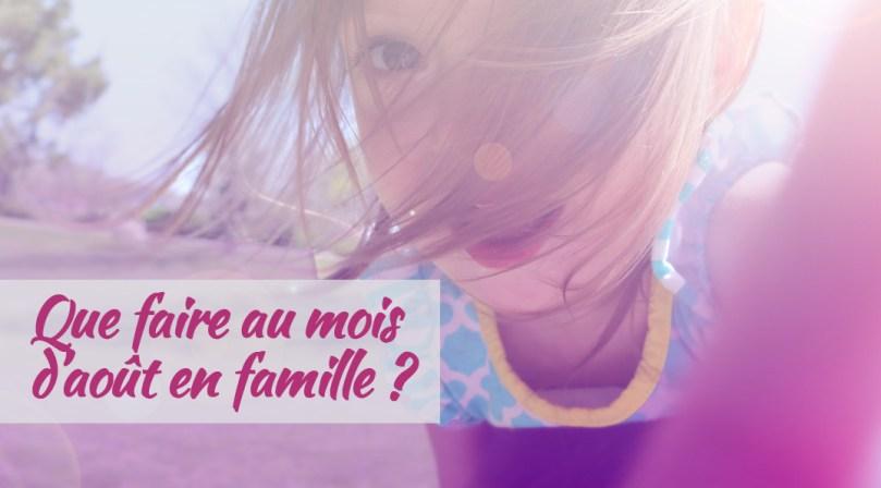 Que faire en famille au mois d'aout à Marseille