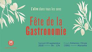 Fête gastronomie Marseille cours estiennes d'orves