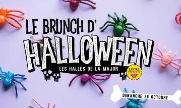 Brunch Halloween aux Halles de la major