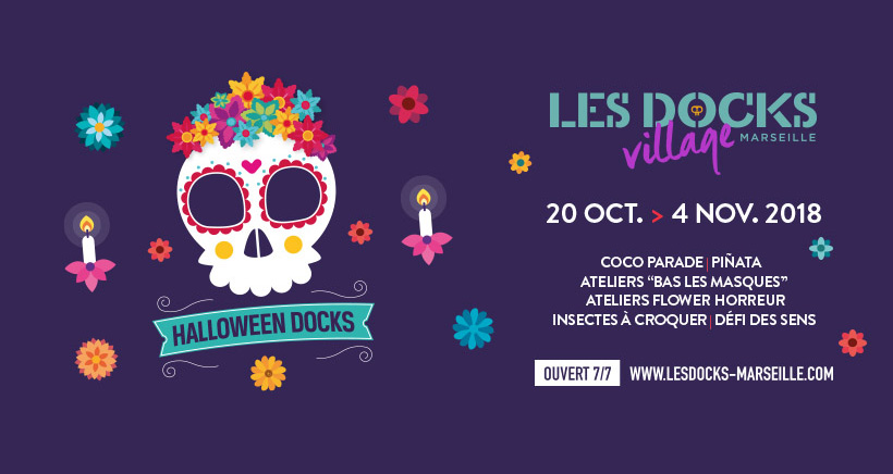 Halloween aux Docks Village