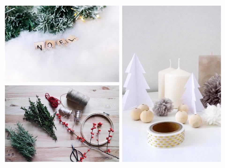 Atelier Créatif décorations de Noël