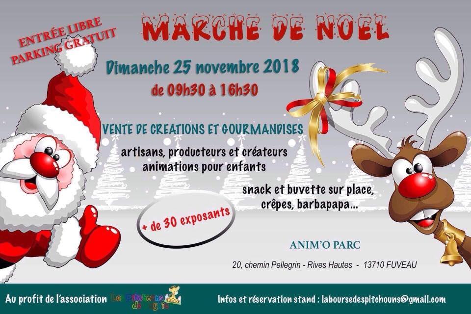 Marché de Noël Anim'o Parc Fuveau