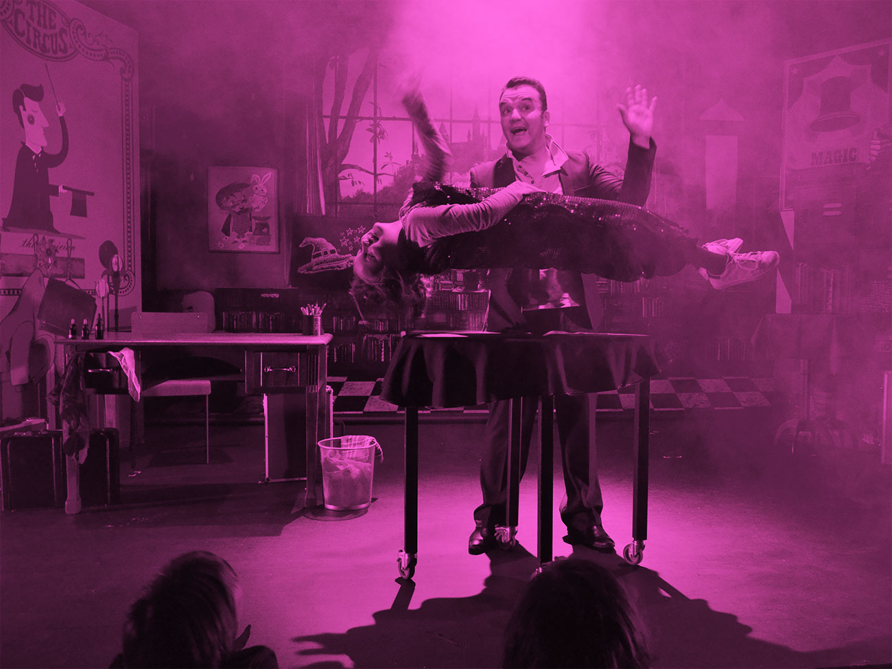 L'école des magiciens au Mucem