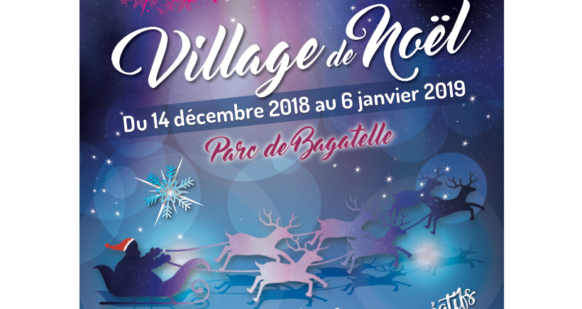 Village de Noël de Bagatelle, Marseille