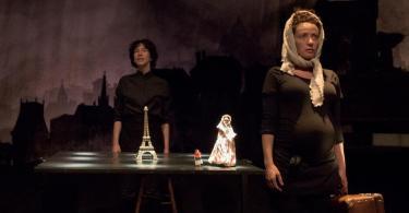 spectacle les misérables Karine Birgé et Marie Delhaye