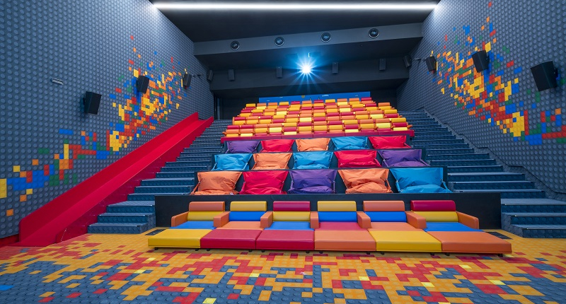 Découverte du nouveau cinéma  EuropaCorp La Joliette
