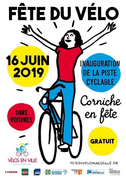 Fête du vélo marseille 2019