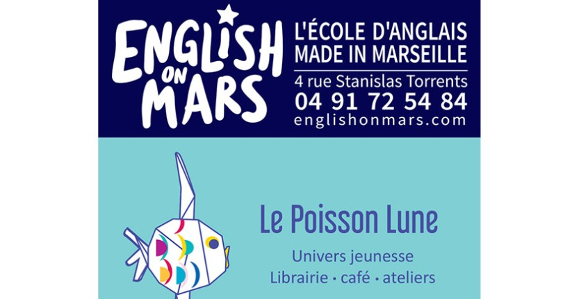 English on mars au Poisson Lune