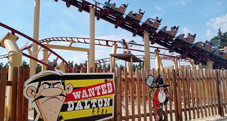 roller-coasters parc spirou