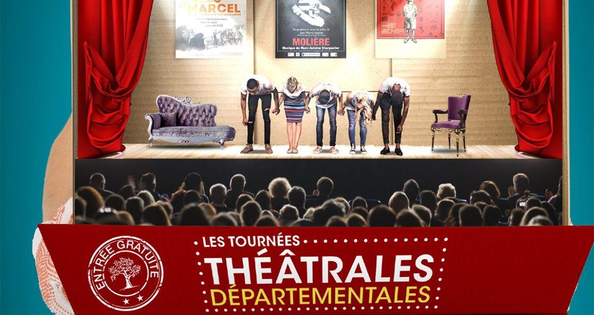 Spectacles gratuits dans le cadre de la Tournées départementales des Bouches-du-Rhône