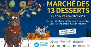 Marché des 13 desserts d'Aix en Provence