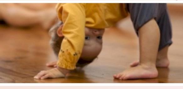 Eveil à la danse -Rencontre des bébés danseurs -