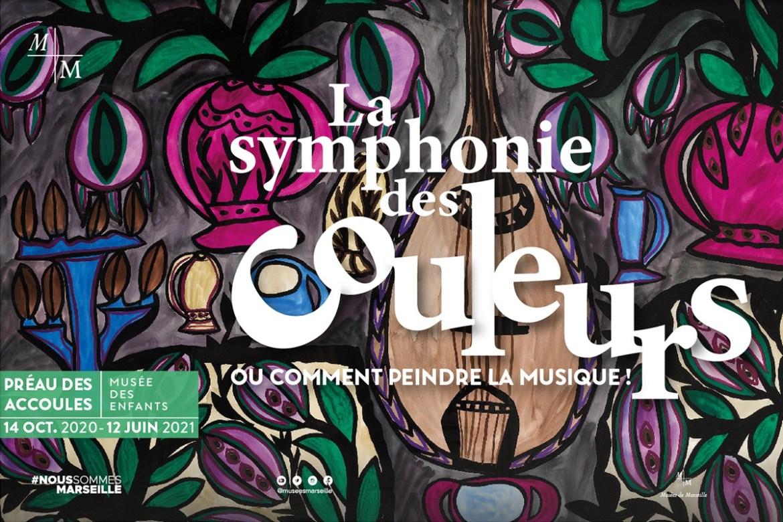 La symphonie des couleurs, ou comment peindre la musique, le Préau des Accoules Marseille