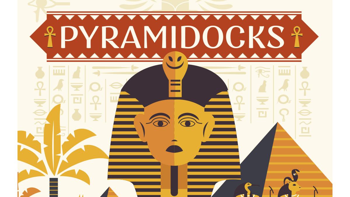pyramidocks Docks Village se met aux couleurs de l'Égypte du temps des pharaons.