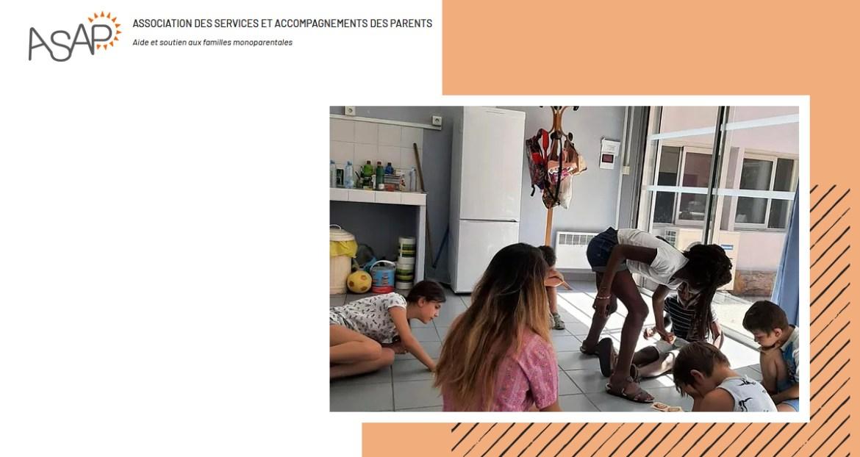 ASAP : association d'aide et de soutien aux familles monoparentales à Marseille