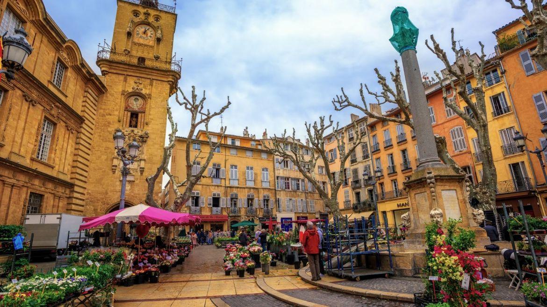 les marchés d'Aix en Provence
